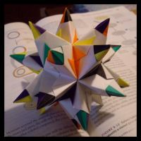 Great Stellated Icosahedron by NegaZero