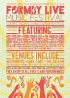 Formby Live Music Festival 2013 Poster by RicGrayDesign