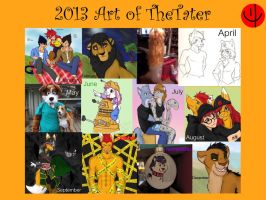 The art of 2013 by TheTater
