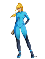 Zero Suit Samus by MissAudi