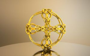 Celtic Cross Incendia Ex 3D printable model by nic022