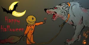 Howling Halloween by MacabreMajesty