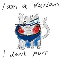 Turian cat by Cerrydd