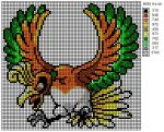 250 Ho-oh by cdbvulpix