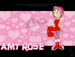 Amy Rose-DP style by aguzzla22 by Sonic-Team-Fan-Club