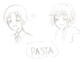 Fai and Italy - PASTA by TsubasaHolic