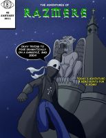 Issue 2 Cover by Razmere