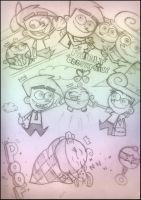 FOP- Fairly OddFamily Sketches by PearlOFJoy