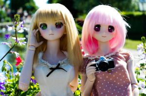 August Meet-up: Seityan and Mina by Migon21