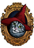 Wizard Cat by e1-since1987