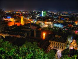 Graz city view 2 by Thorin86