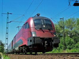 Railjet in Gyor on june, 2010 by morpheus880223