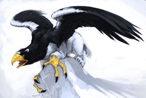 IceGryphon by Mr--Jack