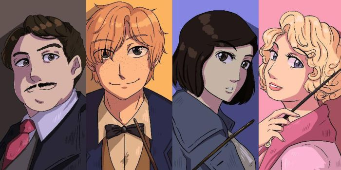 Scamander  Co. by penco-kun