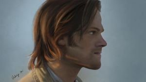 Sam Winchester, Supernatural by RussianVal