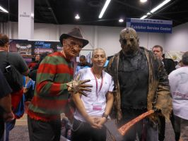 Freddy Krueger,Jason and myself. by DougSQ