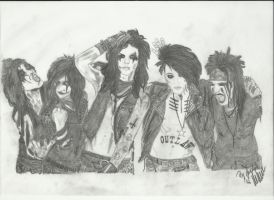 Black veil Brides 6 finished by xxdaswarwohlnix