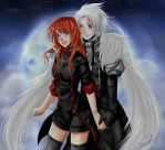 Nyel and Allen Walker by Shandisworld