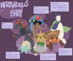 Team Hazardous Entry by Lion-Oh-Day