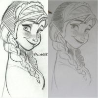 Anna concept art by faiz333