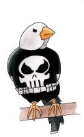 Punisher Bird by StingRoll