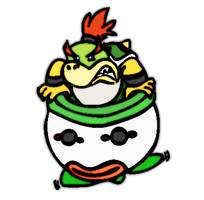 Bowser Jr. by TheOneWithSarcasm