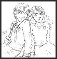 Draco and Hermione - So... by irishgirl982
