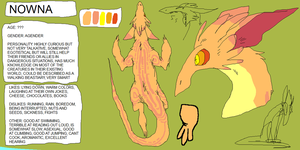 Nowna Ref by tech-impaired-anubis