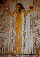 Tomb painting stock by rustymermaid-stock