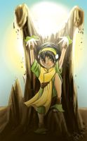 Toph- Earth bender by girlzOr