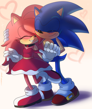 AT SonniXSonic by Domestic-hedgehog