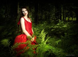 In the forest I wait for you by Annie-Bertram