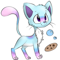 Bubble-Cookie Art Trade by jpstardust