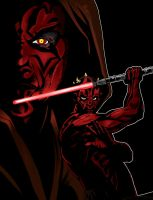 Darth Maul by microwaved-infinity