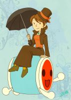 miss layton? by bitecat