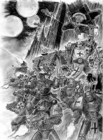 Space marines by Zaelle