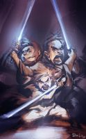 A Jedi Family: The Nelsons by Benlo