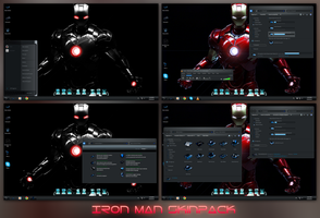 Iron Man Skinpack by TheDhruv