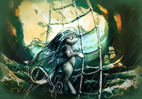 Mare of the Sea by sharpieboss