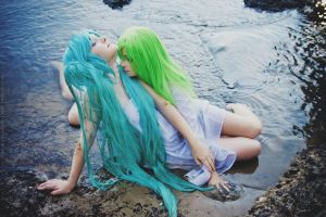 Code Geass and Vocaloid C.C. by Me Miku by Ranni F by Kazuki-Fuchouin