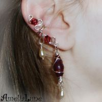 Dramatic ear cuff by AmeliaLune