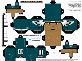 DeSean Jackson Eagles Cubee by etchings13