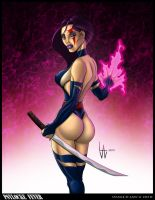 Psylocke Fever by LawLiEnt