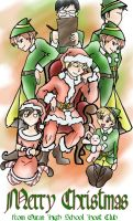 Host Club Christmas by Axe-Girl