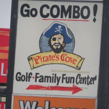 Welcome to pirate's cove fun center of death by boeingboeing2