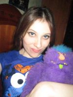 Me and my moster :D by Benni-M