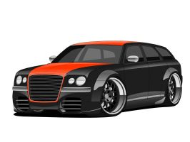 300C Wagon - Euro Style Custom by matt-chops