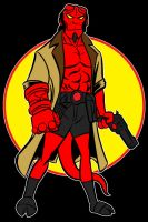 hellboy by AlanSchell