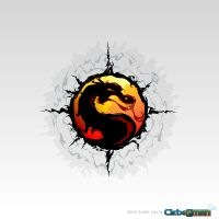 Mortal Kombat 'Tribal' Logo by Kalangozilla