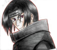 Itachi Uchiha by morgan1508